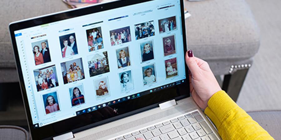 Digital image organizing