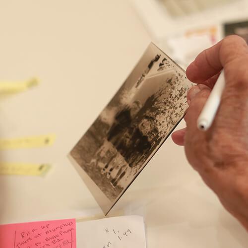 Old slide film